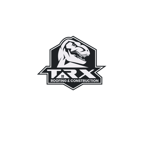 T-rex design with the title 'TRX'