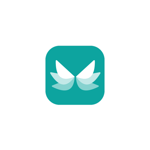 Pretty design with the title 'Wimzee app icon'