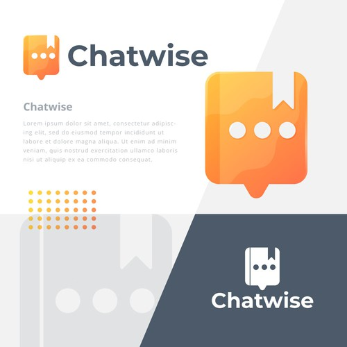 Messenger design with the title 'Chatwise'