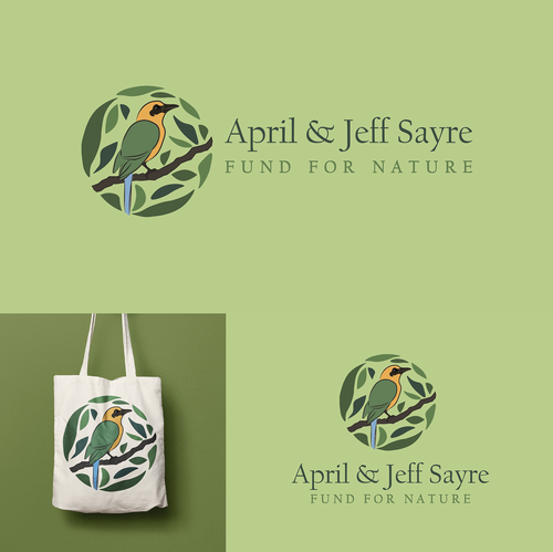 Portfolio logo with the title 'Fund For Nature '