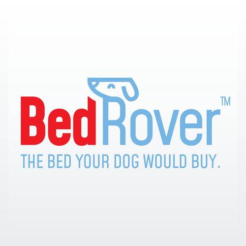 Pet logo with the title 'Playful logo for a dog bed company'