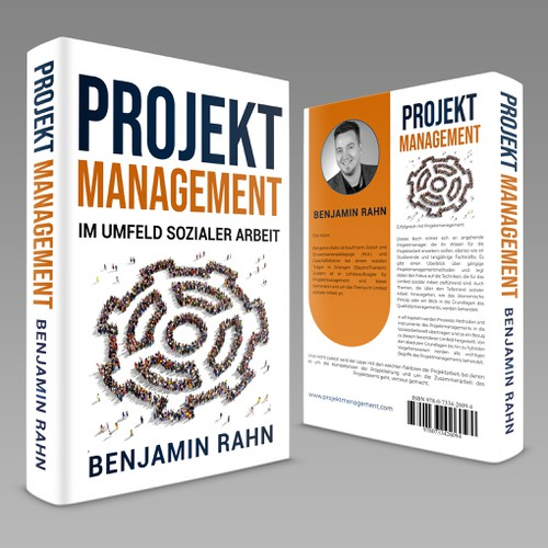 Work book cover with the title 'PROJEKT MANAGEMENT'
