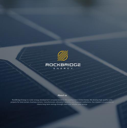 Energy logo with the title 'RockBridge Energy'