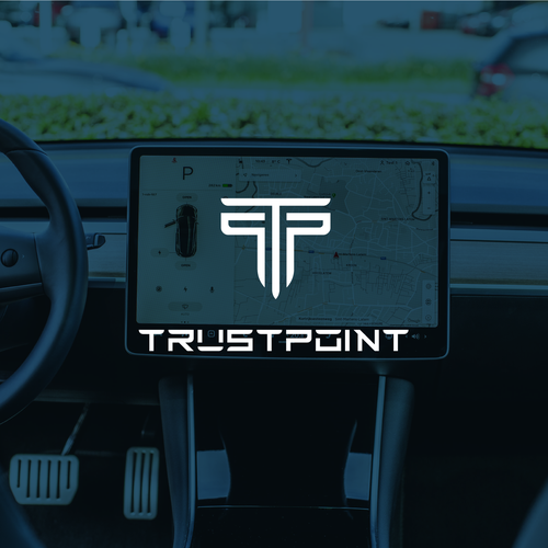 Augmented reality design with the title 'Powerful Logo for GPS Technology Company'