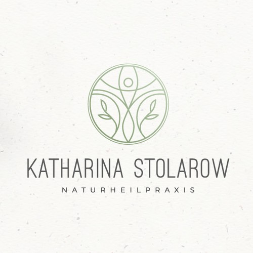Anatomy logo with the title 'Sophisticated Logo for a Naturopath, Therapist and Nutritionist'