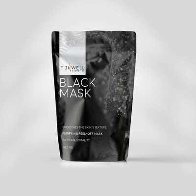 Black Mask from Fiji well cosmetics