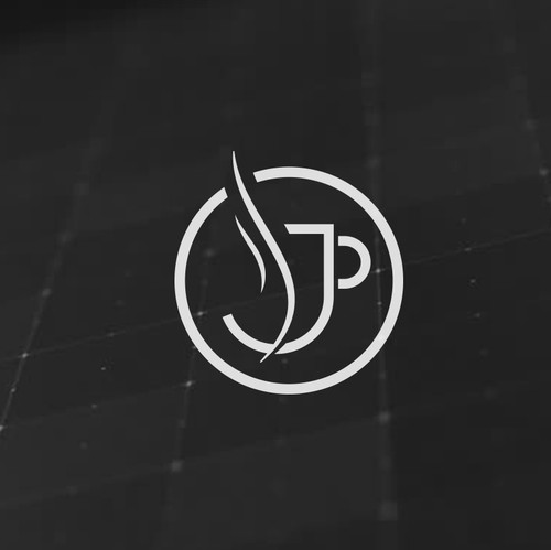 Coffee cup logo with the title 'Java Wealth logo design'