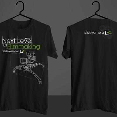 Create a technical elegant T-shirt design!