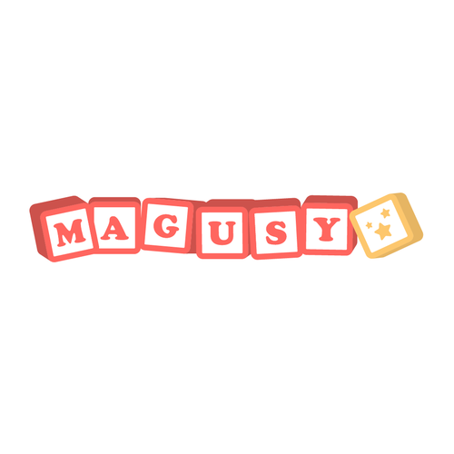 Star logo with the title 'Magusy - Baby Products'