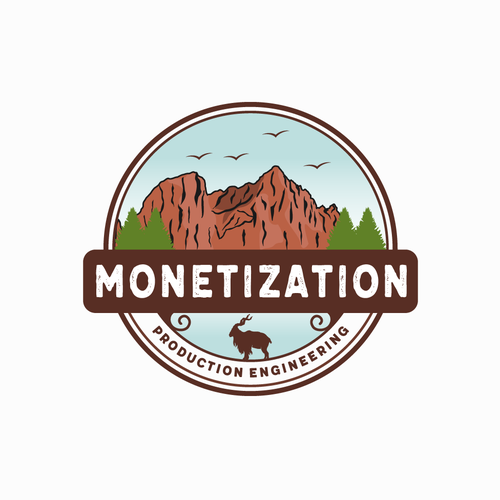 National park design with the title 'Monetization'