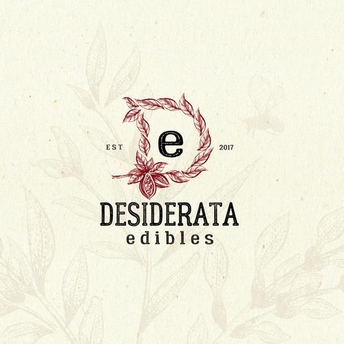 Cocoa design with the title ' Chocolate Edibles Logo Design'