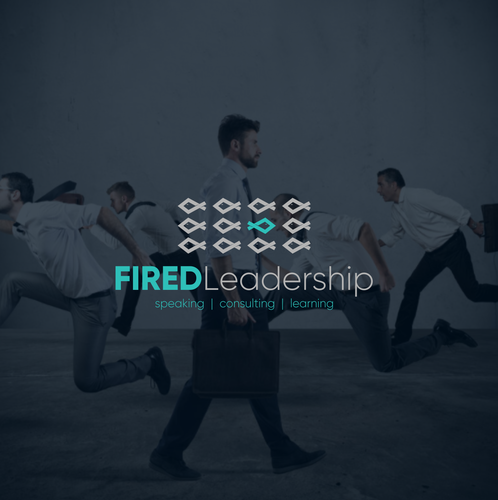 Teal design with the title 'FIRED Leadership'