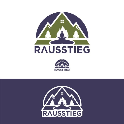 Outdoor brand with the title 'Rausstieg'