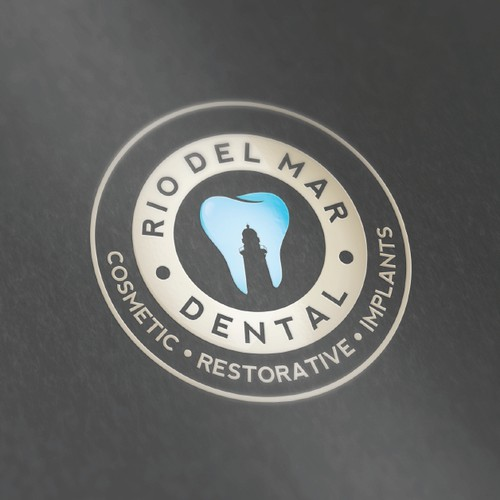 Seal logo with the title 'Rio Del Mar Dental'