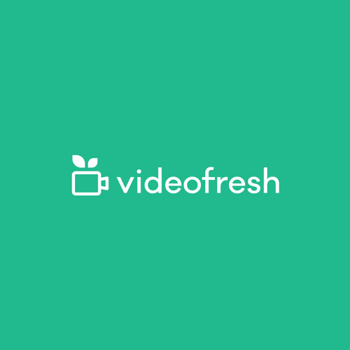 Combination logo with the title 'Video fresh'