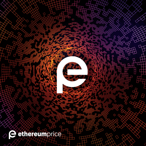 Ethereum logo with the title 'Statement logo for a cryptocurency tracker'