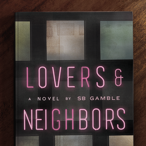 Urban design with the title 'Lovers & Neighbors'