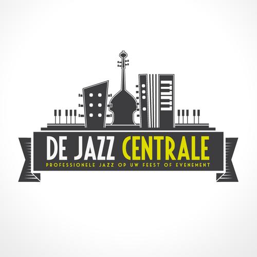 Event logo with the title 'De Jazz Centrale heeft een nieuw logo nodig'