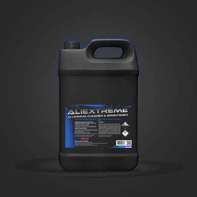Automotive Cleaning and Detailing Label Design