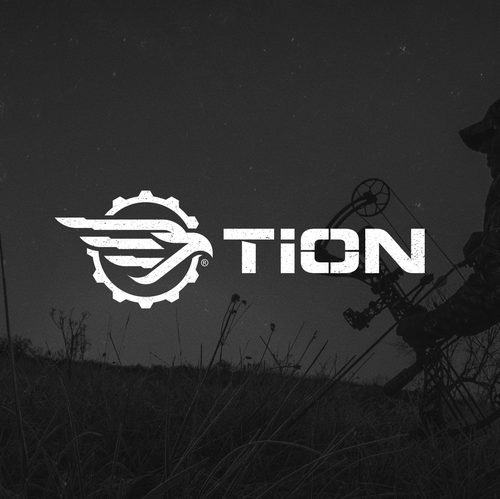 Military design with the title 'Logo design for TiON'