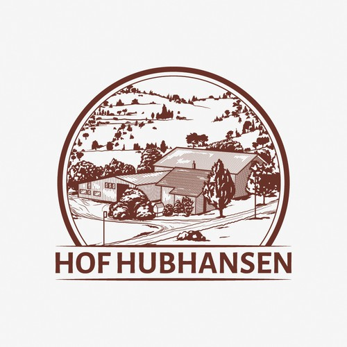 Perspective logo with the title 'Hof Hubhansen'