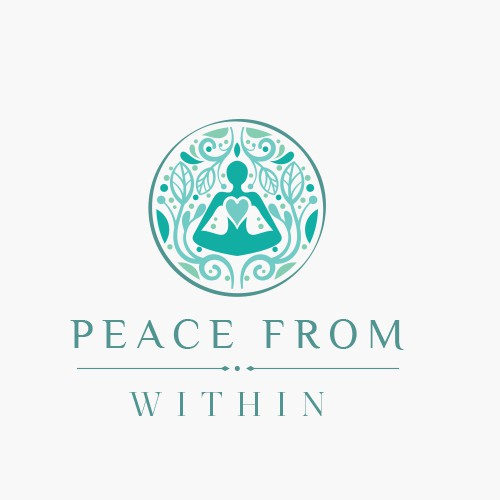 Inside design with the title 'Peace from within'