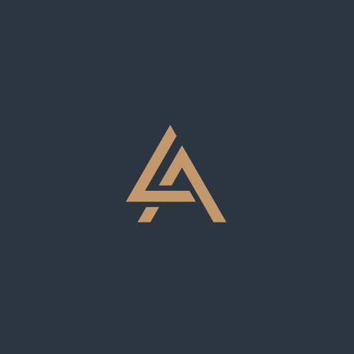 Recruitment logo with the title 'Logo for Largent & Associates'