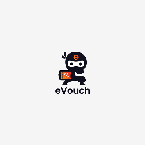 Voucher design with the title 'eVouch'