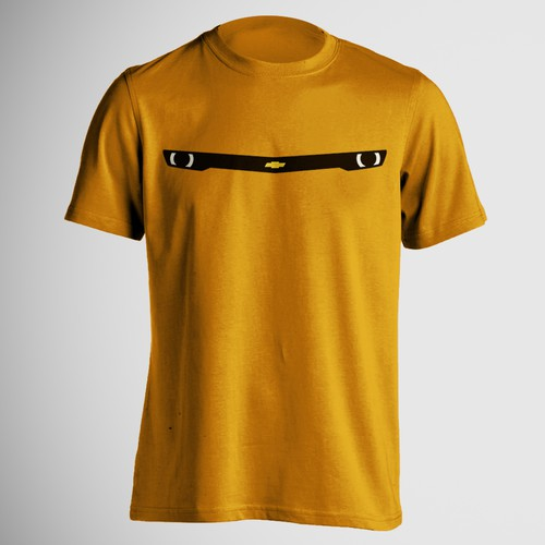 Chevrolet design with the title 'Bumblebee T-Shirt design'