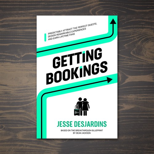 Blueprint design with the title 'Getting Bookings'