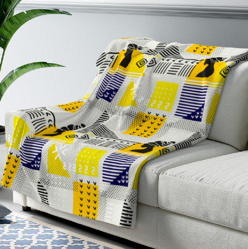Home furnishing design with the title 'african soulful  pattern'