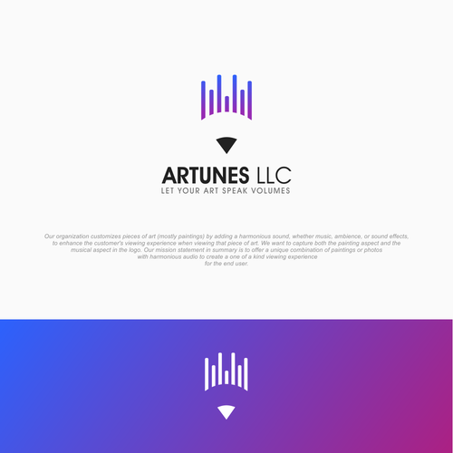 Equalizer design with the title 'ArtTunes '