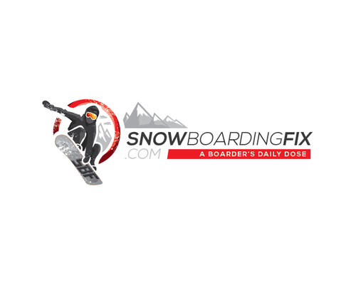 Extreme design with the title 'SnowboardingFix.com'