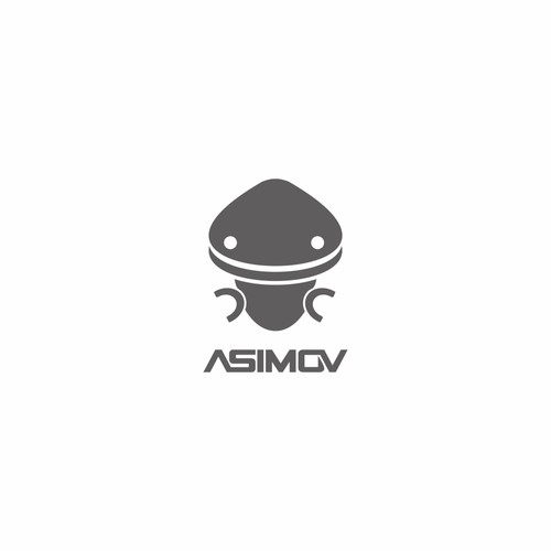 Gray and white logo with the title 'the Asimov project'