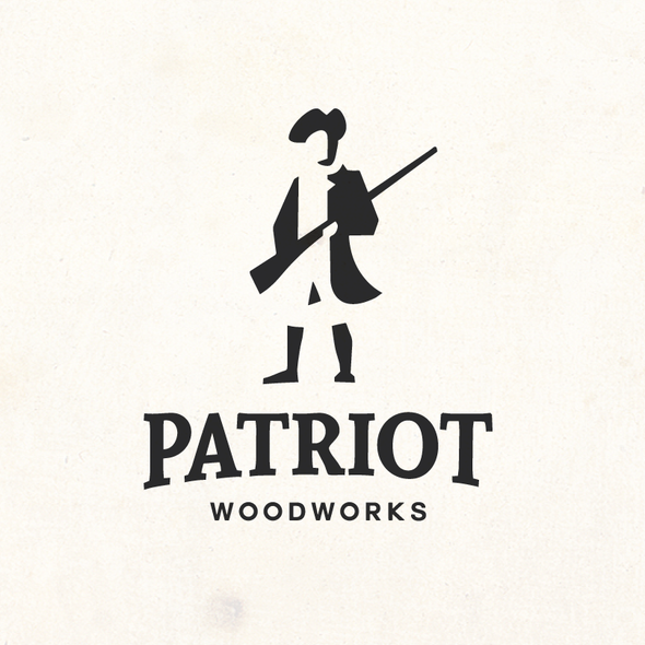 Patriot design with the title 'Create Minutemen inspired logo for luxury brand'