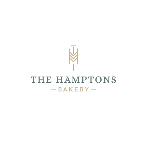 T logo with the title 'Logo for a bakery'