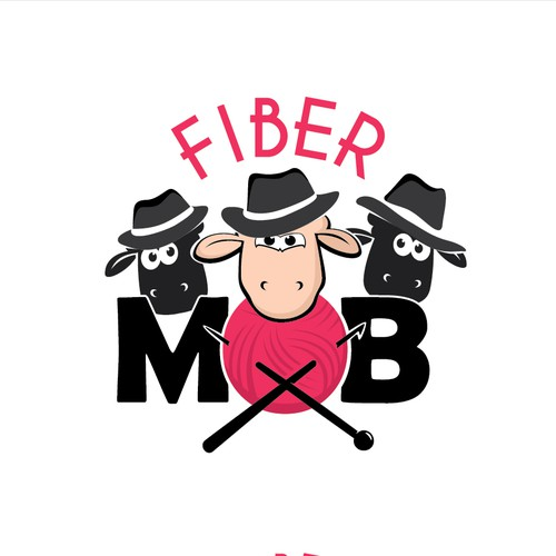 Mob design with the title 'Fiber MOD'