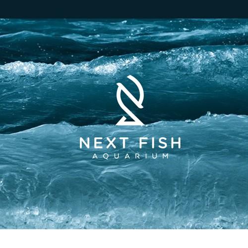 Retail brand with the title 'Next Fish Aquarium'