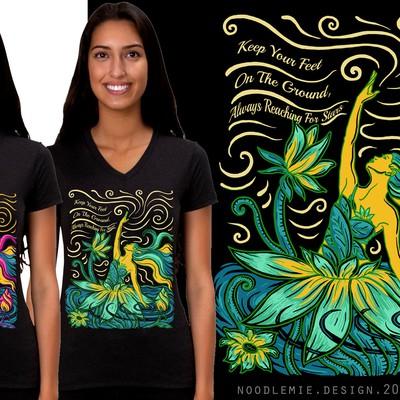 vibrant lotus girl
