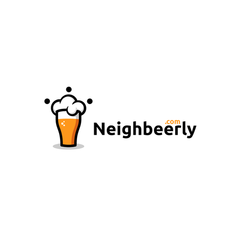 Cooperation logo with the title 'Neighbeerly logo'