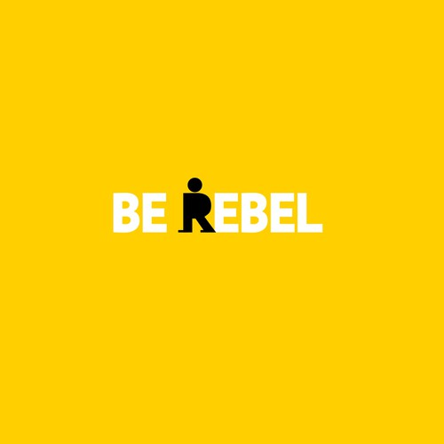 Direction design with the title 'Be Rebel'