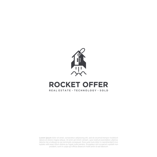 Rocket logo with the title 'Rocket Offer'