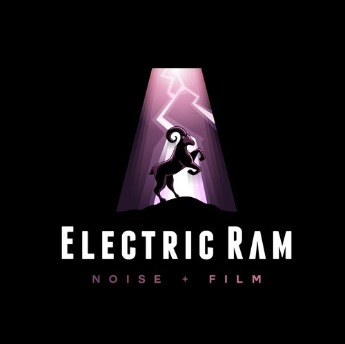 Ram design with the title 'Logo Design for Electric Ram'