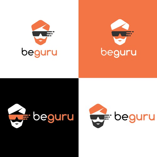 Guru design with the title 'logo for business software'
