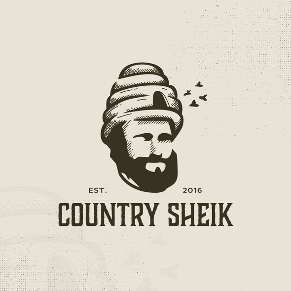 Chic logo with the title 'Country Sheik'