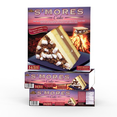 Product packaging (wrap) for Sweet Sofia's Bakery (USA)