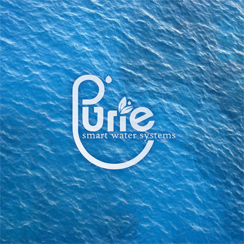 Background logo with the title 'purie'