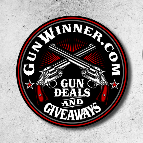 Military design with the title 'Logo design for Gunwinner'