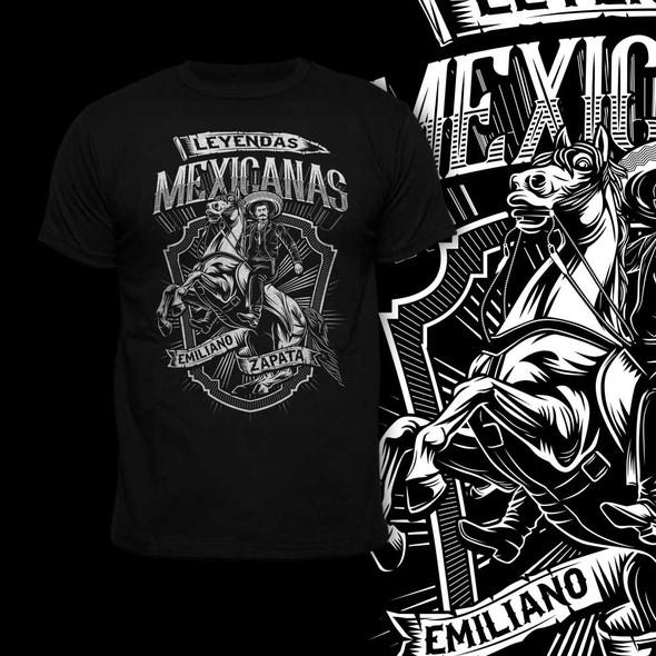 Legend design with the title 'Emilio zapata'