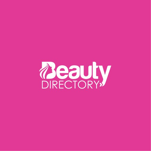 Woman face logo with the title 'Logo for Beauty Directory'